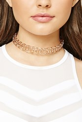 Forever 21 Structured Tattoo Choker