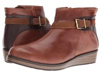 Naot Footwear Cozy Maple Brown Leather Walnut Leather Desert Suede Women's Boots