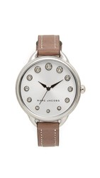 Marc Jacobs Betty Watch Stainless Steel White Cement