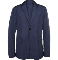 Gucci Lightweight Shell Blazer Blue
