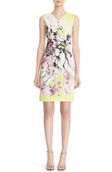 Roberto Cavalli Women's Floral Print Jersey Sheath Dress