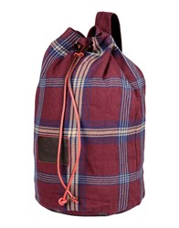 Marc By Marc Jacobs Bags Rucksacks And Bumbags Men Maroon