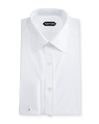 Tom Ford Classic French Dress Shirt White