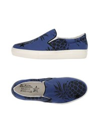 The Editor Footwear Low Tops And Trainers Women Blue