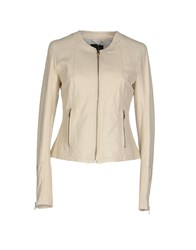 Siste's Siste' S Coats And Jackets Jackets Women Beige