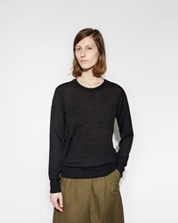 Mhl By Margaret Howell Thermal T Shirt Pullover Black