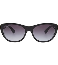 Ray Ban Tinted Cat Eye Sunglasses Black
