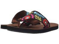 Acorn Artwalk Leather Flip Multi Suzani Women's Sandals