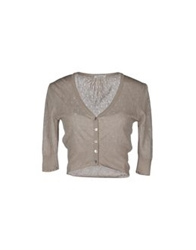 Lucky Lu Cardigans Dove Grey