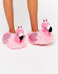 Asos Nutcracker Flamingo Princess Slippers Pink
