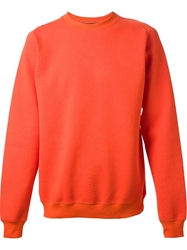 Christopher Kane Bright Sweatshirt Yellow And Orange