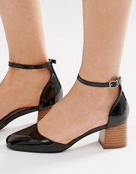 Asos Out Now Heeled Shoes Black
