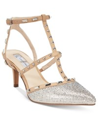 Inc International Concepts Carma T Strap Kitten Heel Pumps Only At Macy's Women's Shoes
