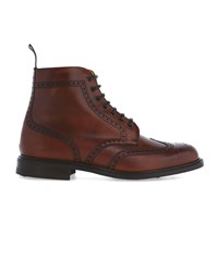 Church's Camel Caldecot Wingtip Laced Boots