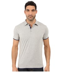 7 Diamonds The Ultimate S S Polo Ash Men's Short Sleeve Pullover Gray