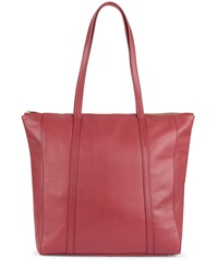 Jaeger Julianne Leather Tote Red