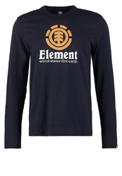 Element Vertical Long Sleeved Top Eclipse Navy Dark Blue