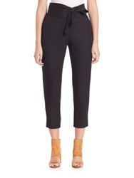 Iro Sheava Cropped Wrap Front Pants Black