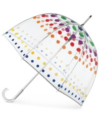 Totes Signature Manual Bubble Umbrella Primary Dot