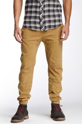 Micros Twill Jogger Brown