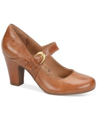 Sofft Miranda Mary Jane Pumps Women's Shoes Cork