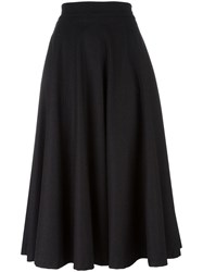 Christian Pellizzari Full Midi Skirt Grey