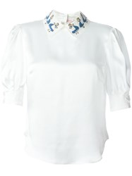 Olympia Le Tan Alice In Wonderland Shirt White