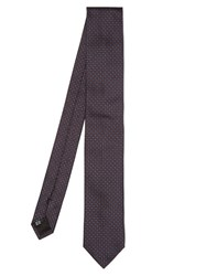 Dolce And Gabbana Circle Silk Jacquard Martini Tie Navy Multi