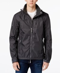 Superdry Men's Windtrekker Stand Collar Jacket Light Grey