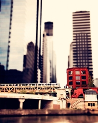 Train Photography Urban Chicago Affordable Home By Tcaponephoto