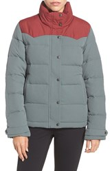 Patagonia Women's 'Bivy' Water Repellent Down Jacket Nouveau Green