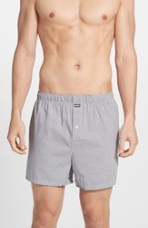 Michael Kors Cotton Boxers Assorted 2 Pack Grey White