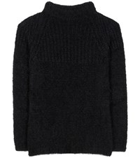 Tom Ford Mohair And Wool Blend Sweater Black