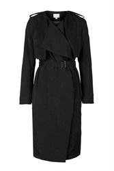 Midi Length Trench By Jovonna Black