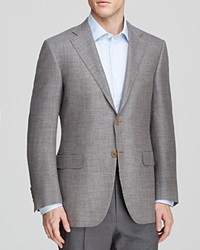 Canali Micro Boucle Sport Coat Classic Fit