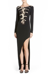 Young Fabulous Broke Young Fabulous And Broke 'Krystal' Maxi Dress Skeleton Wash