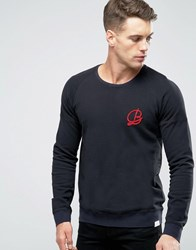 Scotch And Soda Constructed Sweatshirt Black