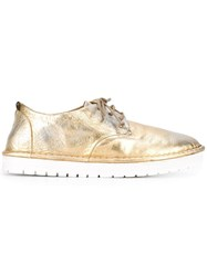 Marsell Lace Up Sneakers Metallic
