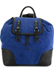 Dsquared2 Oversized Backpack Blue
