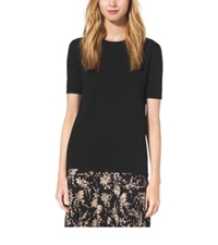 Michael Kors Cotton T Shirt Black