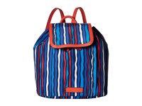 Vera Bradley Preppy Poly Backpack Cobalt Stripe Backpack Bags Blue