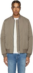 Blk Dnm Taupe 85 Bomber Jacket