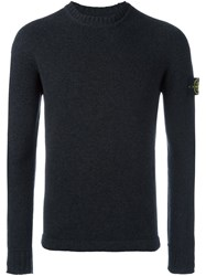 Stone Island Crew Neck Jumper Grey