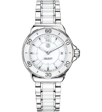 Tag Heuer Formula 1 Steel And Ceramic Watch 37Mm Ceramic White