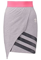Adidas Originals Mini Skirt Grey Pink Black