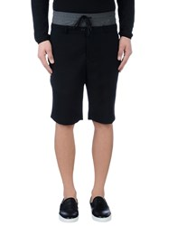 Public School Trousers Bermuda Shorts Men Black