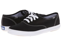 Keds Champion Canvas Cvo Black Canvas Women's Lace Up Casual Shoes