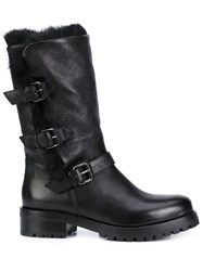 Sartore Knee High Boots Black