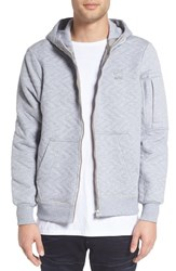G Star Men's Raw 'Batt' Quilted Zip Hoodie