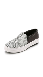 Mcq By Alexander Mcqueen Daze Studded Slip On Sneakers